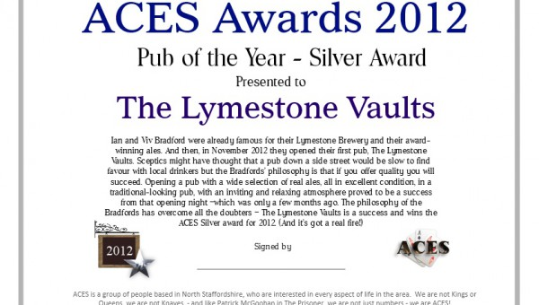 The Lymestone Vaults logo