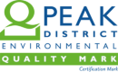 Logo for Peak District quality mark